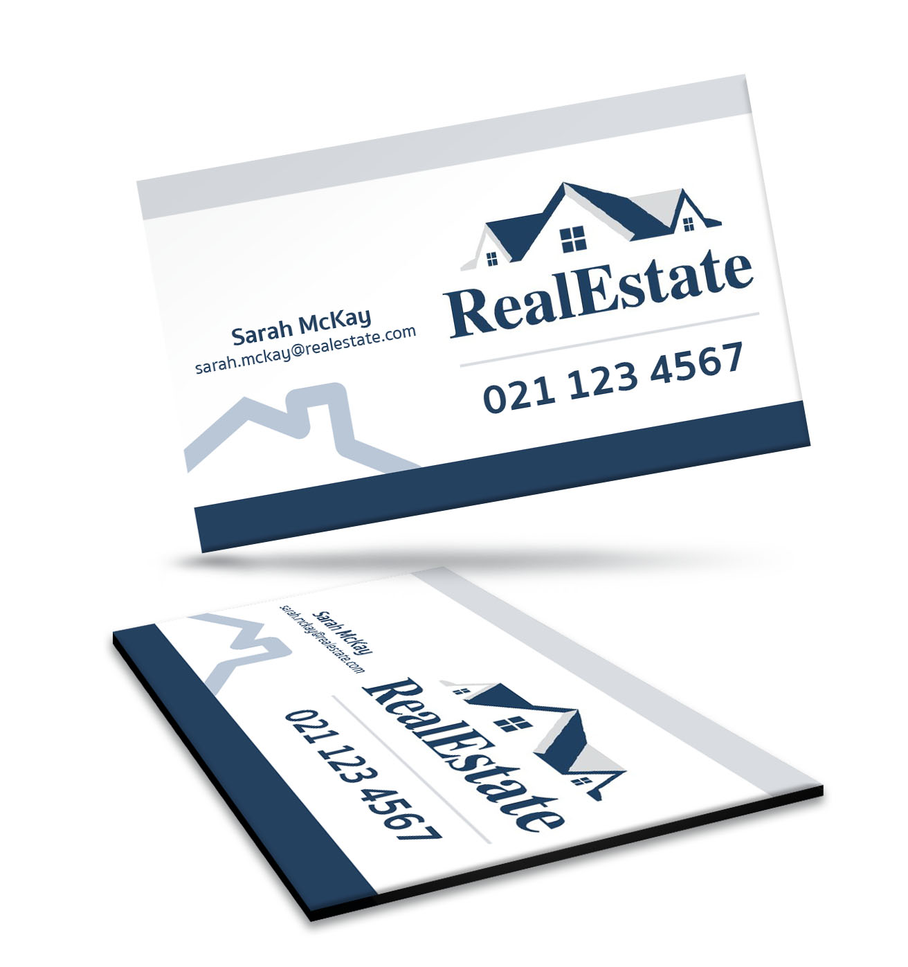 90 X 55mm Fridge Magnet Business Card