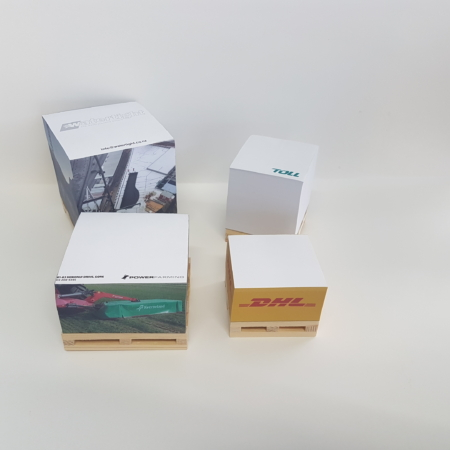 Cube Note Pads (Pad Glued)