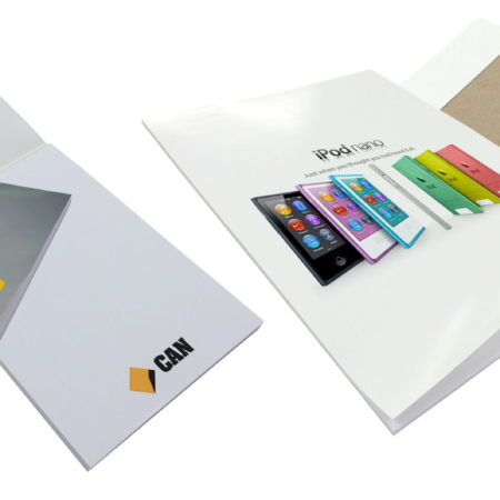 Wrap Over Cover Note Pads
